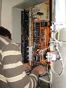 Câblage des armoires électriques