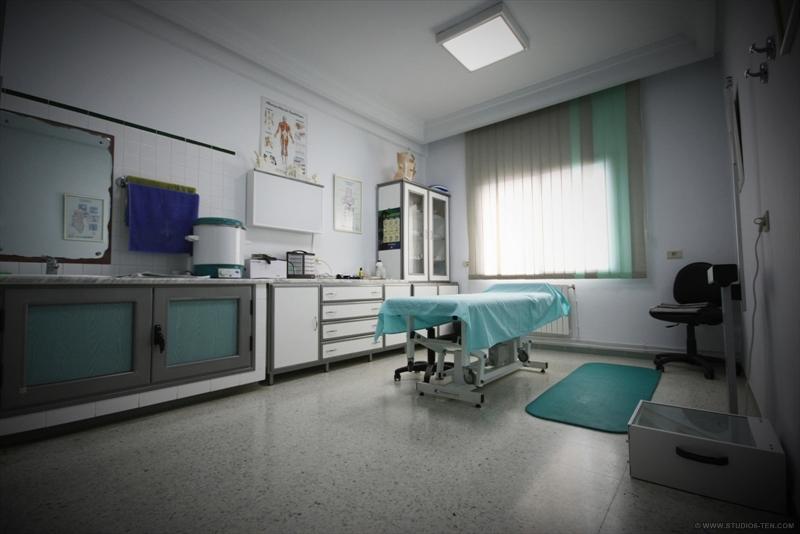 salle de soin médecin