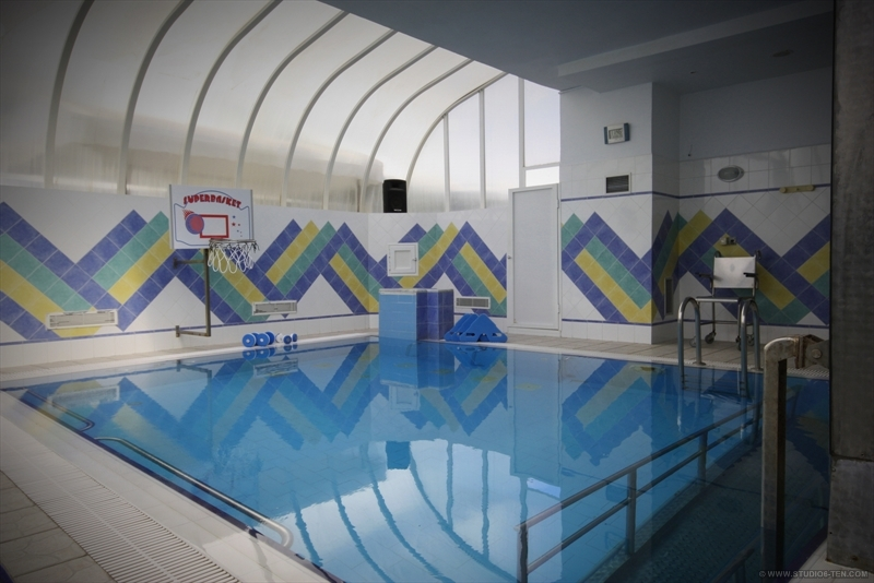 piscine (plate forme de marche)