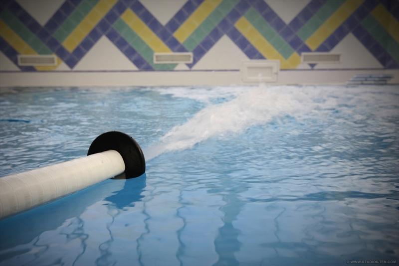 douche au jet sous marin