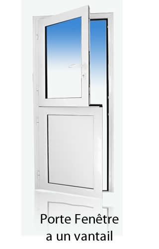 Porte Fenêtre à un vantail