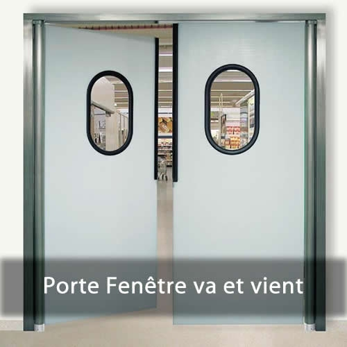 Porte Fen�tre va et vient