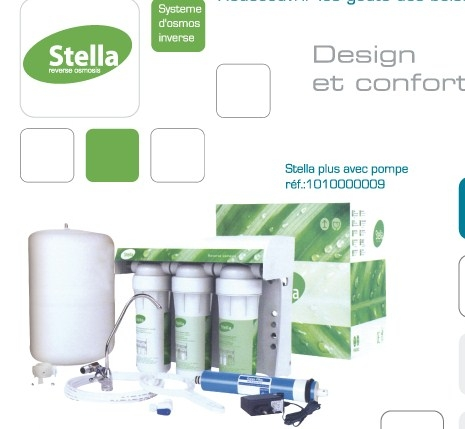 systeme d'osmose stella