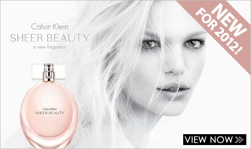 New 2012 Clavin Klein SHEER BEAUTY