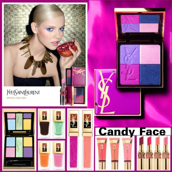 Yves Saint Laurent Candy Face Makeup Collection 2012