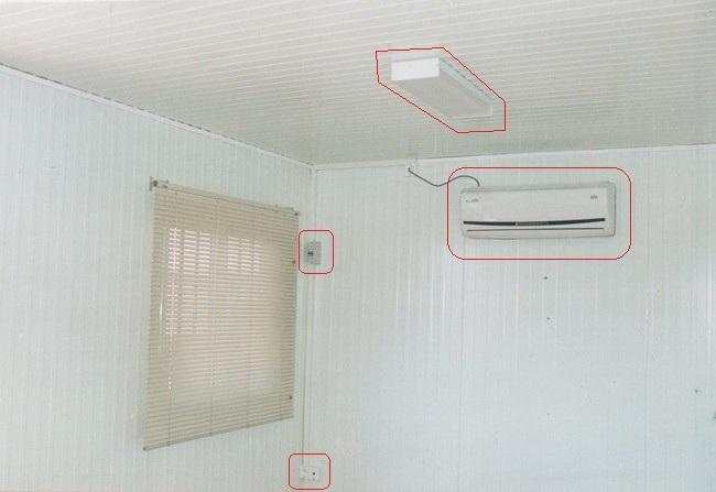 Monobloc isolant : details d'equipements interieures