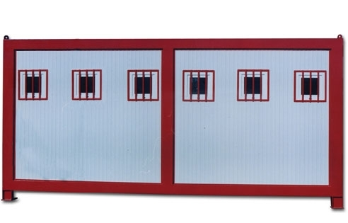 MI 36SW : vue d'ariere 5toilettes+1douche+3laves mains+3bisoires