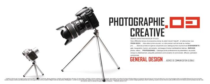 Création photographique