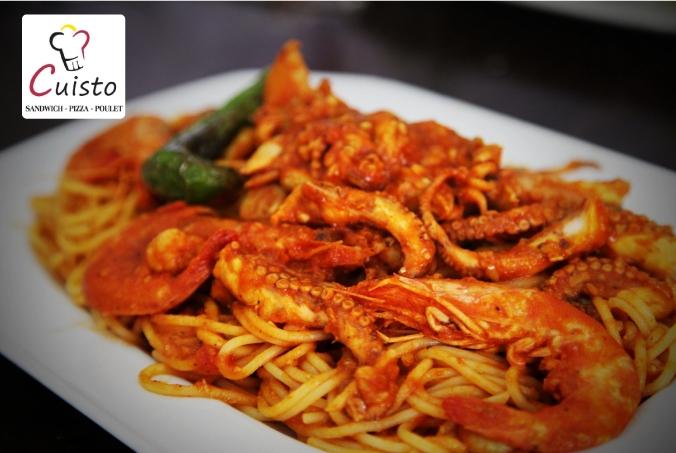 Spaghetti aux fruits de mer - Spaghetti aux fruits de mer ...