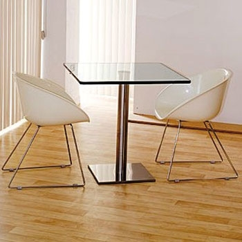 TABLE-CARRE-70X70-SOCLE-INOX