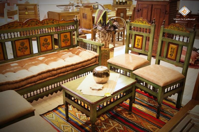 Sjour antique for Meuble artisanal tunisien