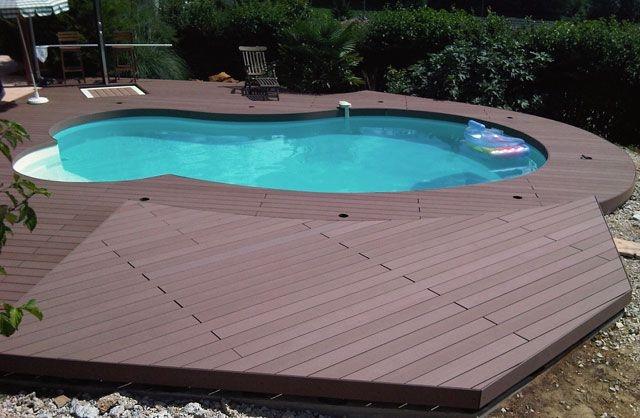 parquet pour piscine