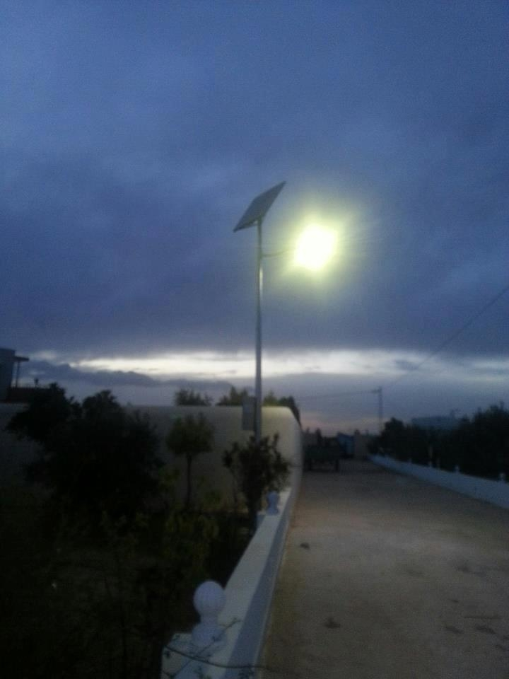 poteau éclairage publique