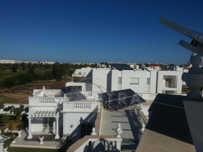 Installation photovoltaique Monastir