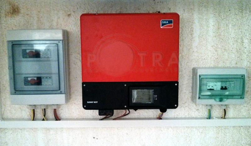 Installation onduleur SB 5000TL-21