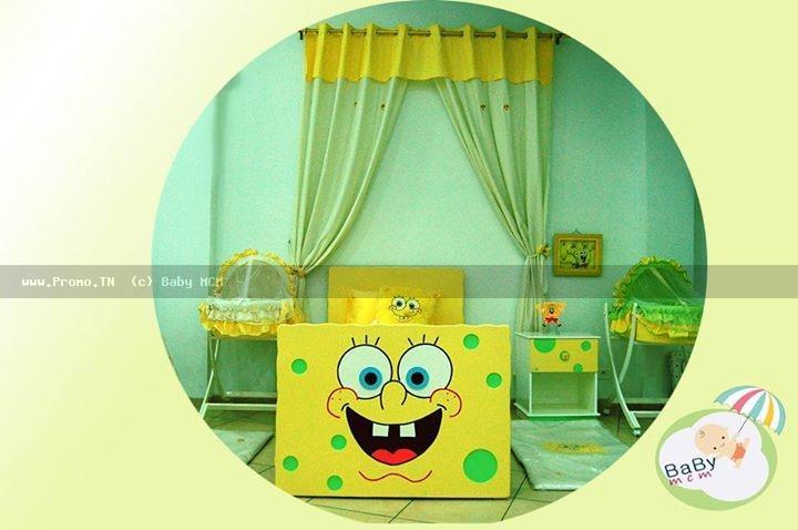 chambre juniore spanchbob