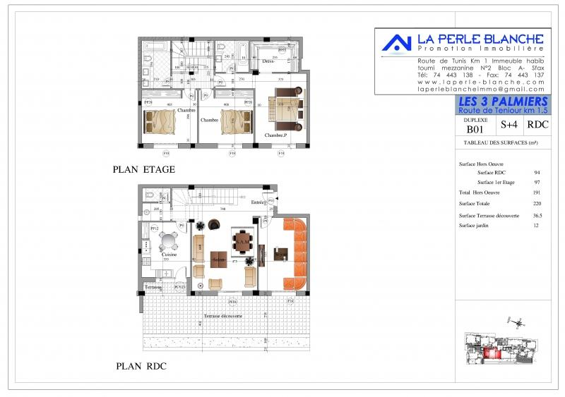 Duplex B-01 (S+4)