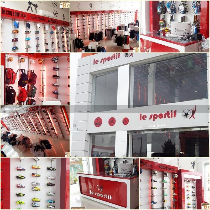 aménagement magasin le sportif