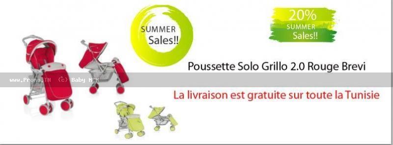 Poussette Brevi Grillo
