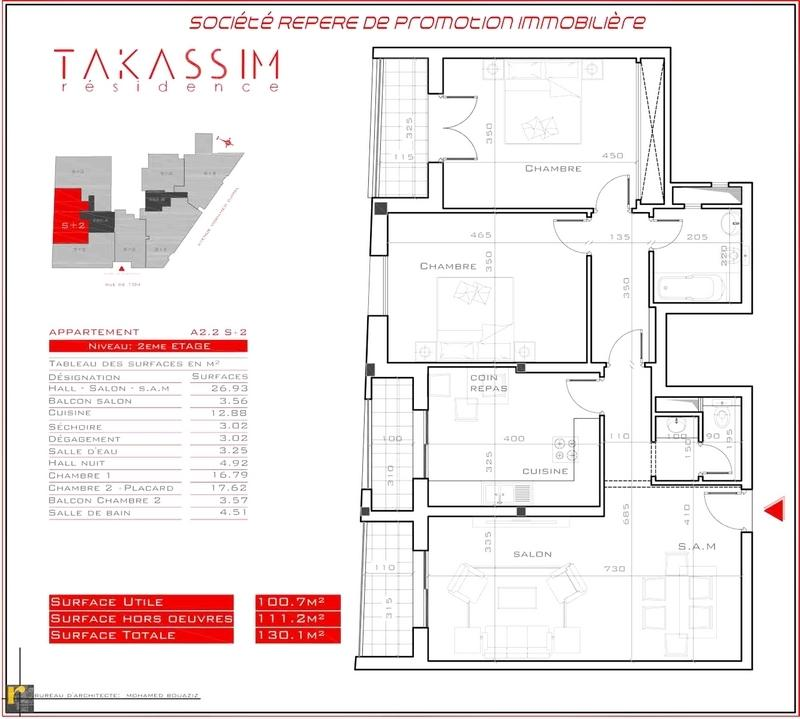 Résidence TAKASSIM