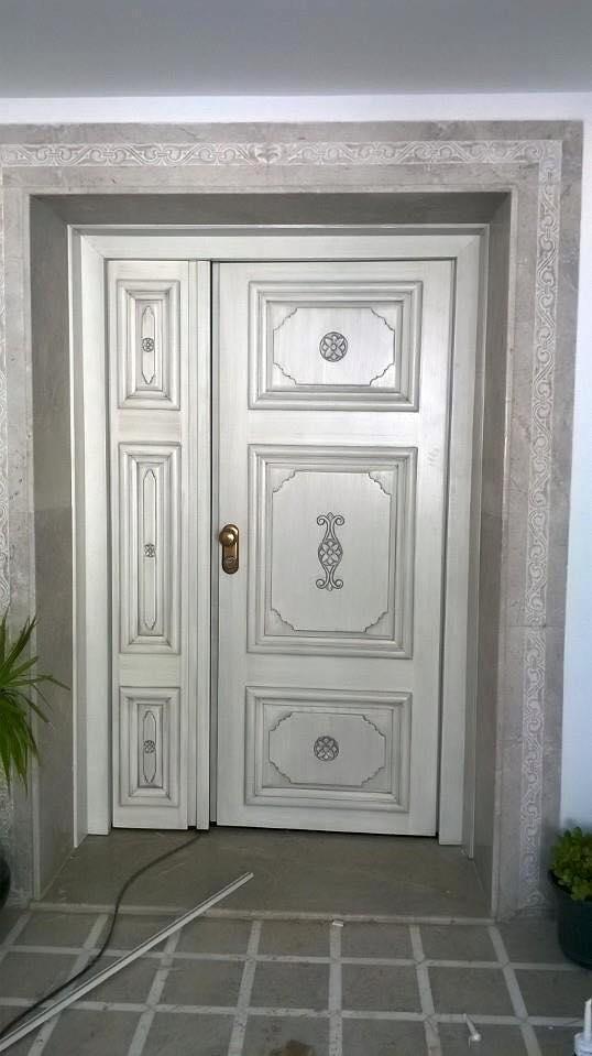 Porte d 39 entr e haute s curit for Masonite porte exterieur