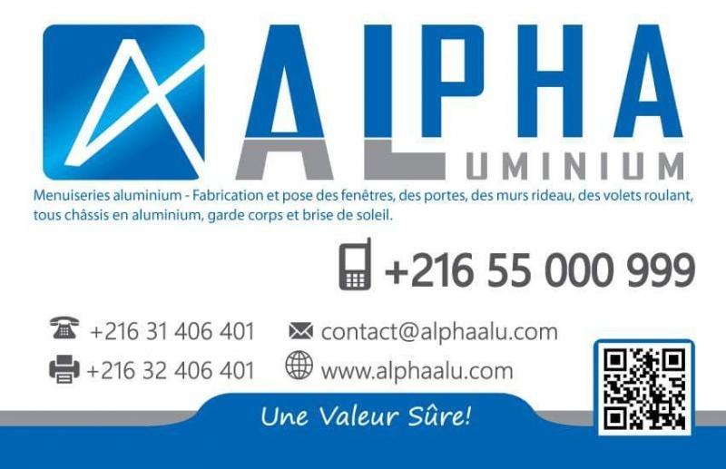 Alpha aluminium