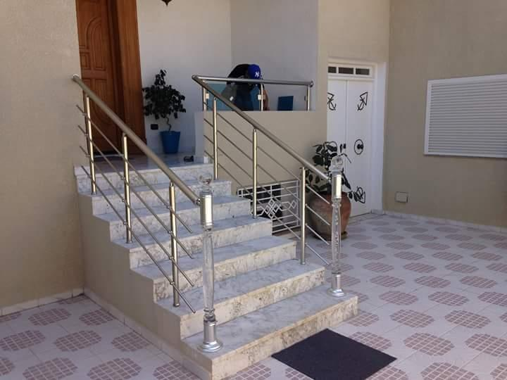 Rampe escalier model 4 barreaux
