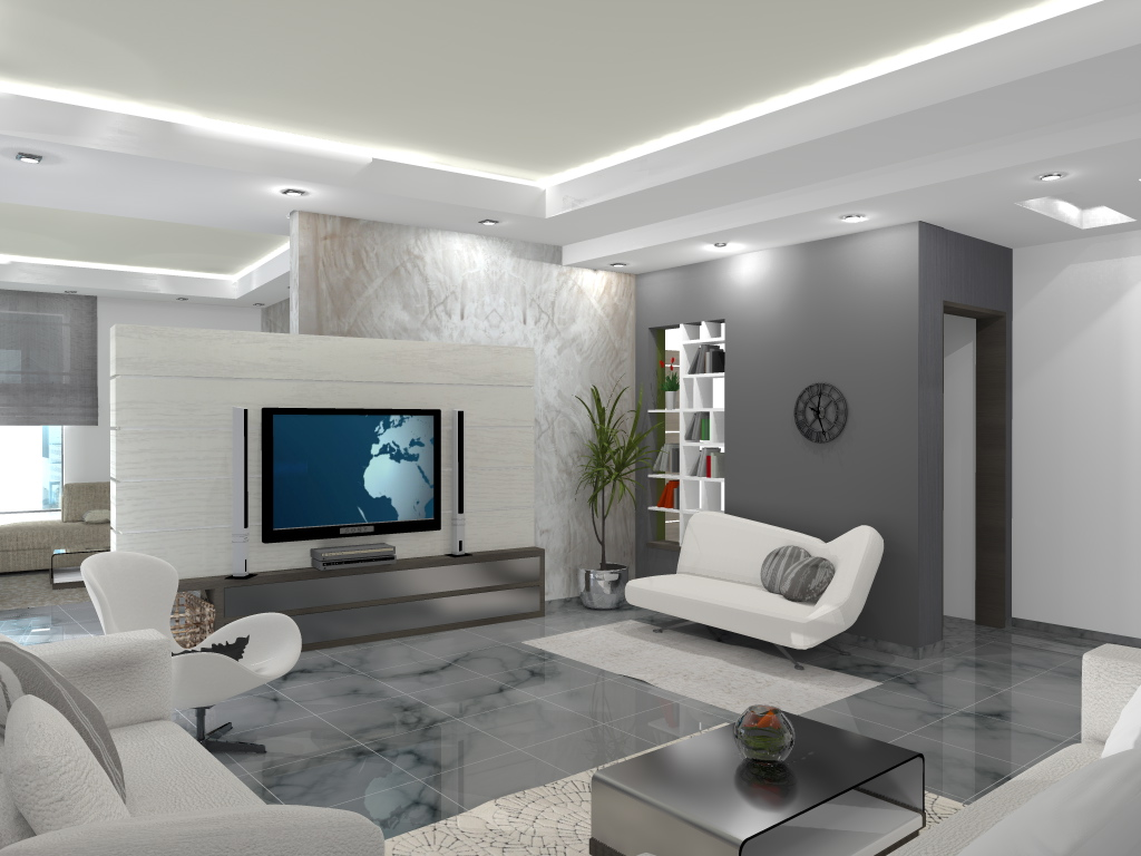 Appartement luxueux for Modele de decoration de maison