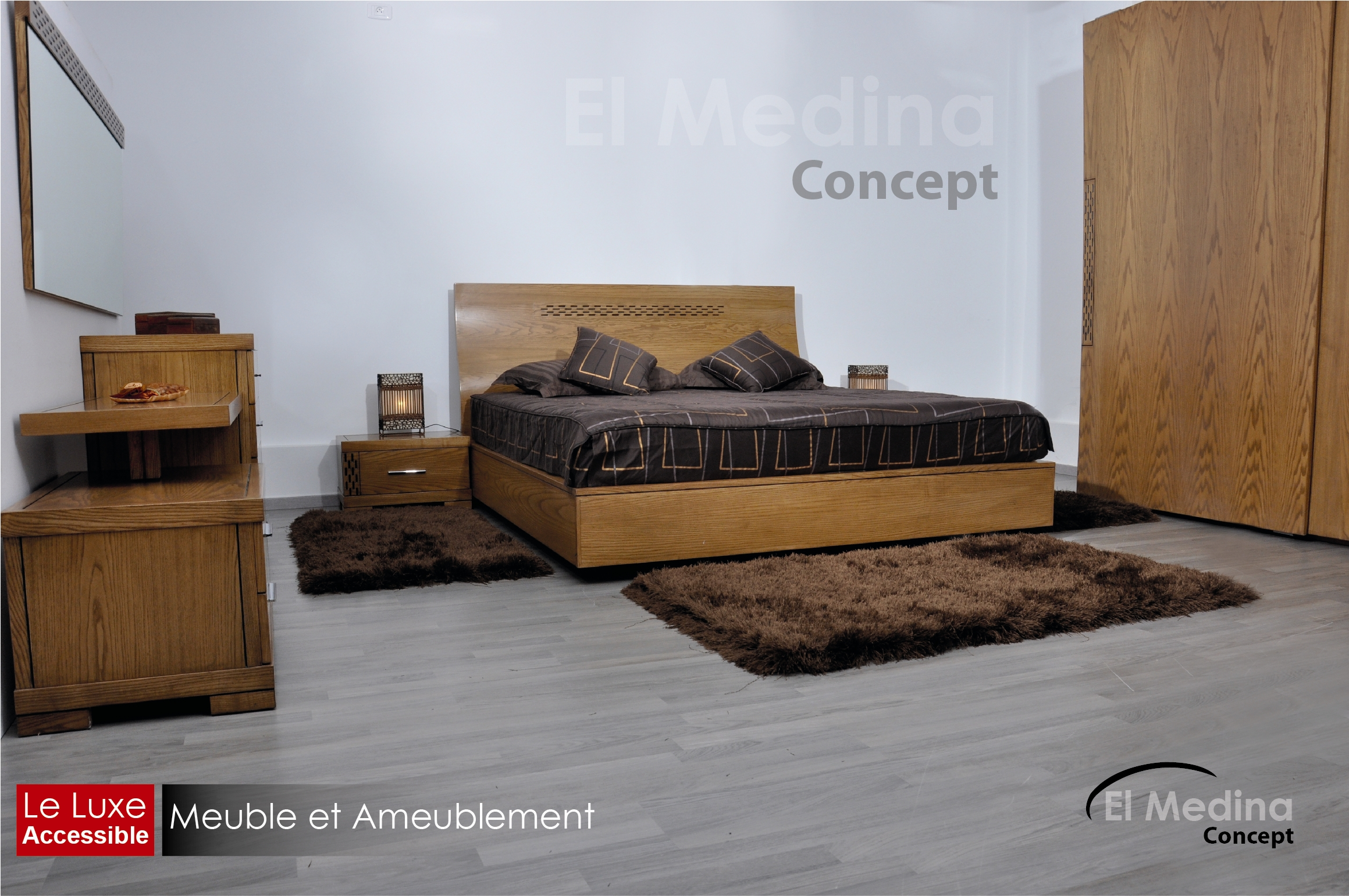 El medina concept for Model de chambre a coucher moderne