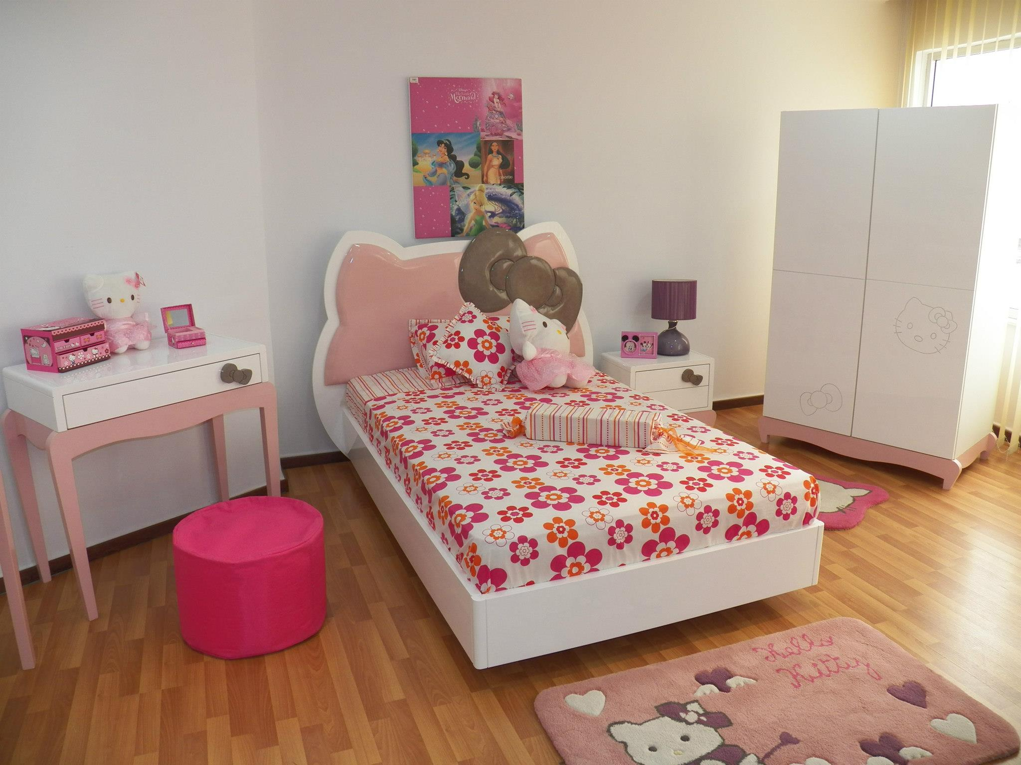 Piccolo for Chambre a coucher hello kitty
