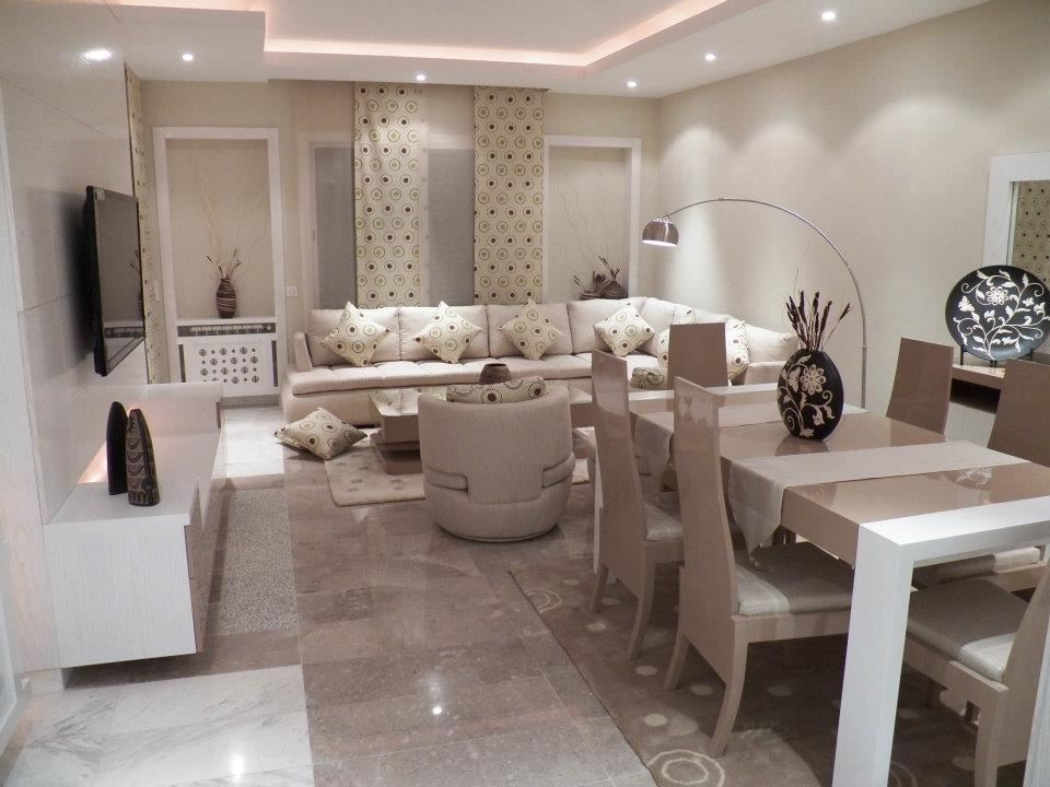 Stunning Decoration Salon Moderne Tunisie Images - House Design ...