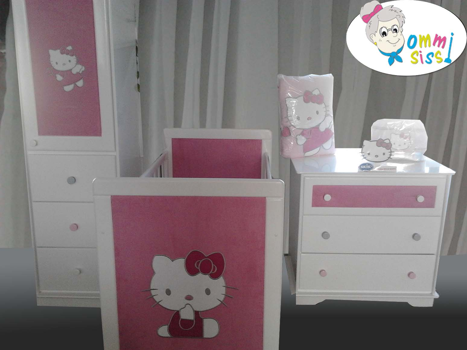 Hello kitty chambre bb gallery of chambre de bebe fille - Decoration hello kitty pour chambre bebe ...
