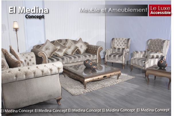 El medina concept for City meuble tunisie