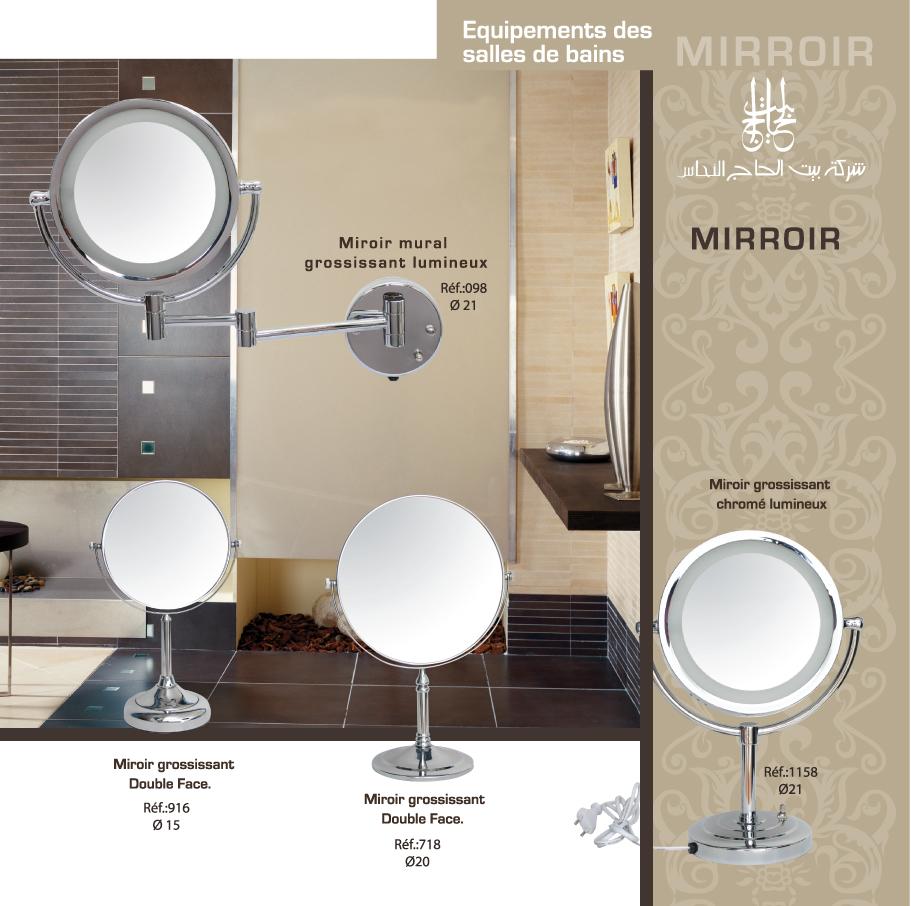 Luminaire Salle De Bain Mr Bricolage ~ promo tn miroir grossissant