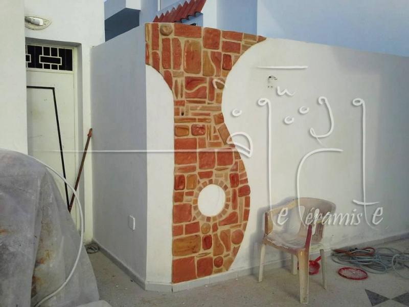 D coration et rev tement mural en c ramique for Decoration jardin sfax