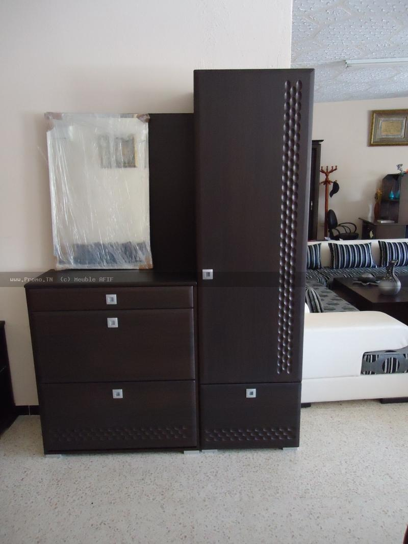 meuble afif. Black Bedroom Furniture Sets. Home Design Ideas