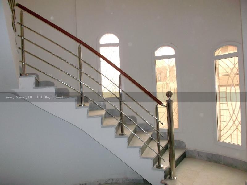 Chez kharrat inox rampe escalier sfax for Meuble kharrat