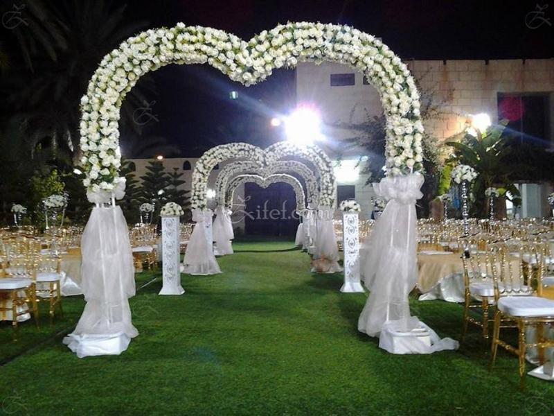 Mariage en plein air algerie - Decoration salle des fetes alger ...