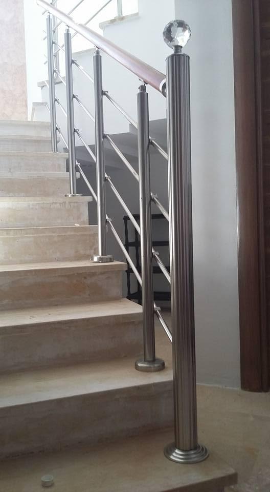 rampe escaliers. Black Bedroom Furniture Sets. Home Design Ideas