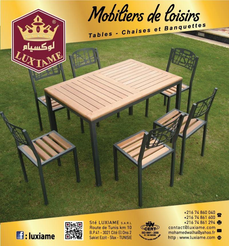 Emejing Table Plastique Jardin Tunisie Ideas - House Design ...