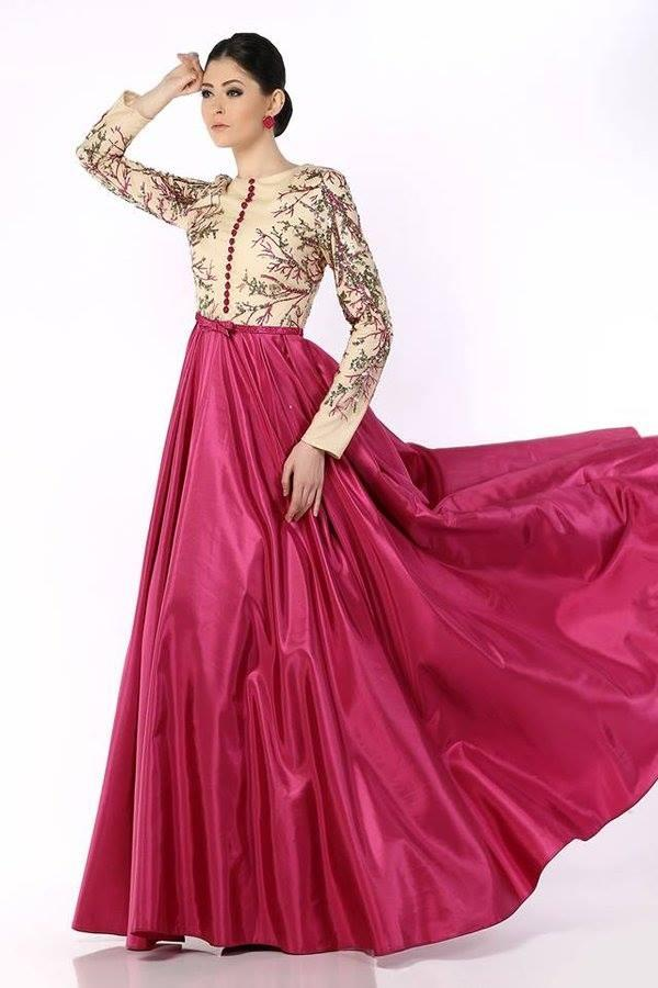 Modele robe soiree tunisienne